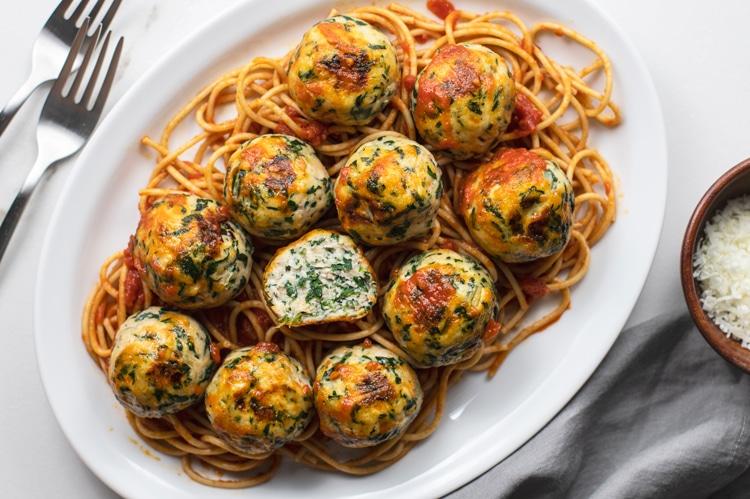Chicken Florentine Meatballs